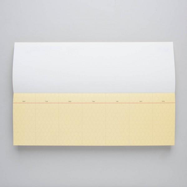 Paperways Wochenklaviatur Waben