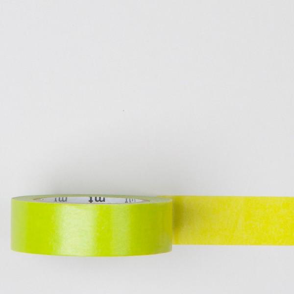 """Masking Tape einfarbig """"wakanae"""" gelbgrün"""