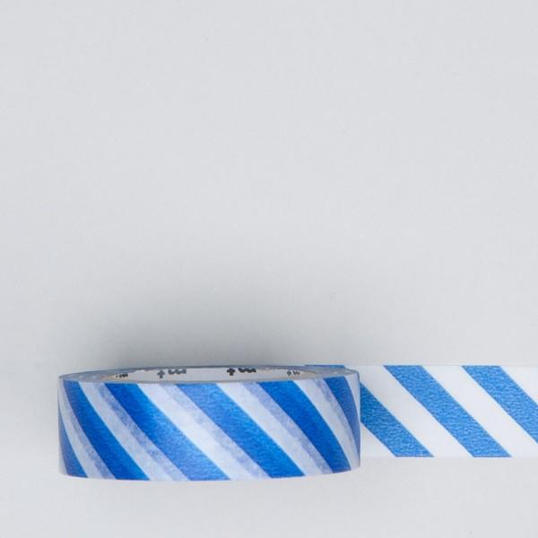 """Masking Tape """"Stripe"""" blau"""