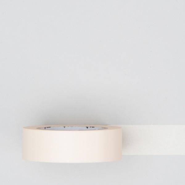 Masking Tape einfarbig pastell ecru