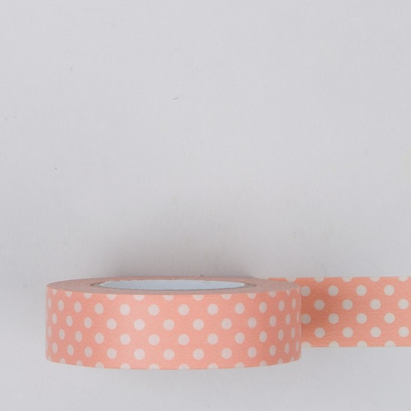 "Masking Tape ""Dot CL"" lachs"