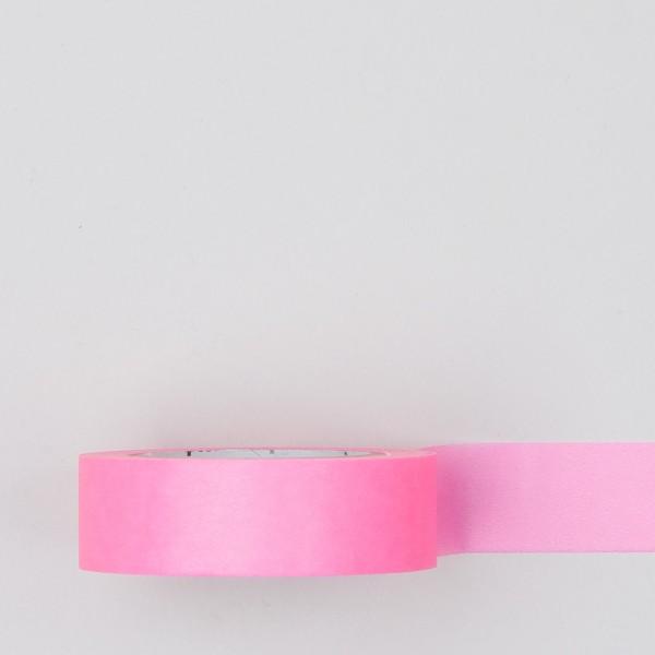 Masking Tape einfarbig neon pink