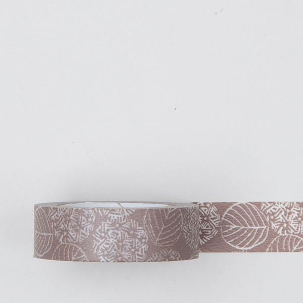 "Masking Tape ""Hydrangea"" mocca braun"