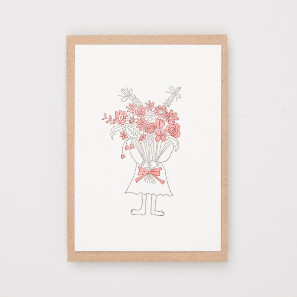 """Grußkarte """"Flower Bouquet"""""""
