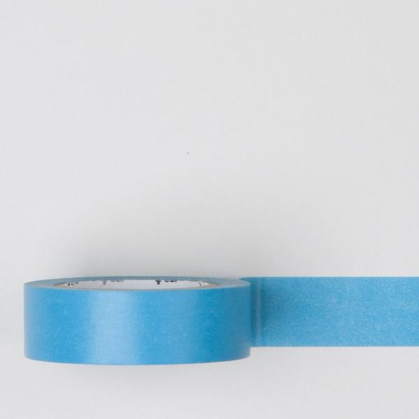 """Masking Tape einfarbig """"mizu"""" wasserblau"""