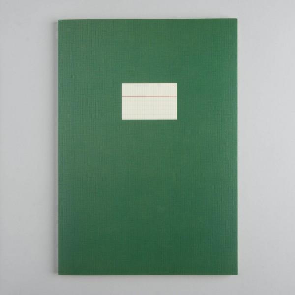Paperways Notizheft A4 - manhatten grid in maigrün
