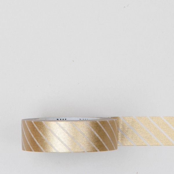 "Masking Tape ""Stripe"" gold"