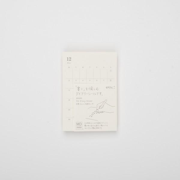 Midori MD 2020 Diary Sticker