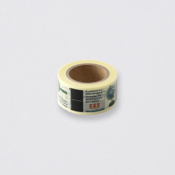 """Midori"" Traveler's Notebook ""Travel Tools"" Masking Tape"