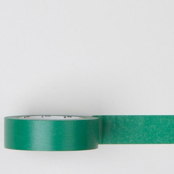 "Masking Tape einfarbig ""peacock"" grün"