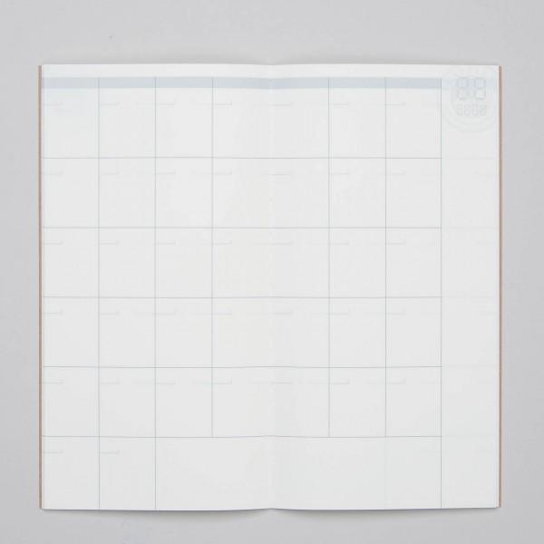 "Traveler's Notebook Refill Free Diary (Kalender für 14 Monate) ""017"""