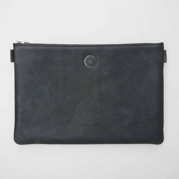 """Sonnenleder Banktasche """"Weill"""" in schwarz"""