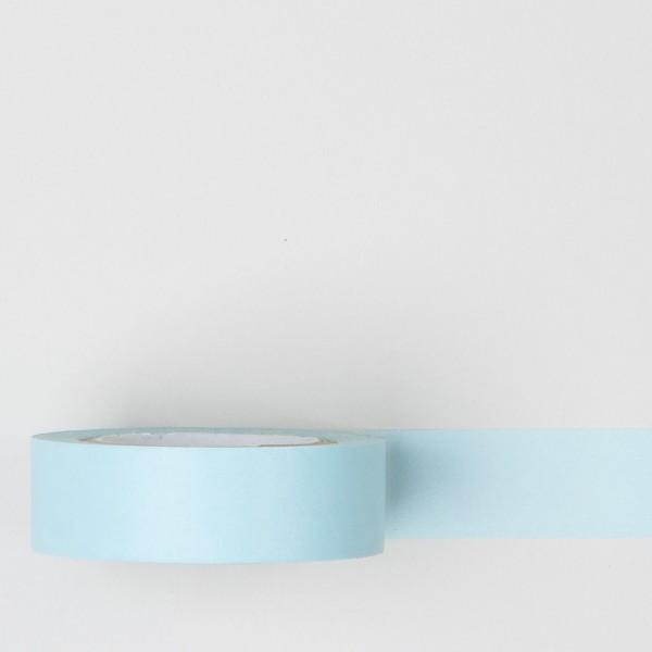 Masking Tape einfarbig babyblau