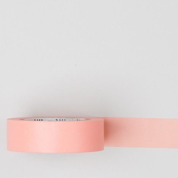 Masking Tape einfarbig lachsrosa