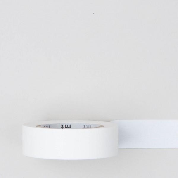 Masking Tape einfarbig mattweiß