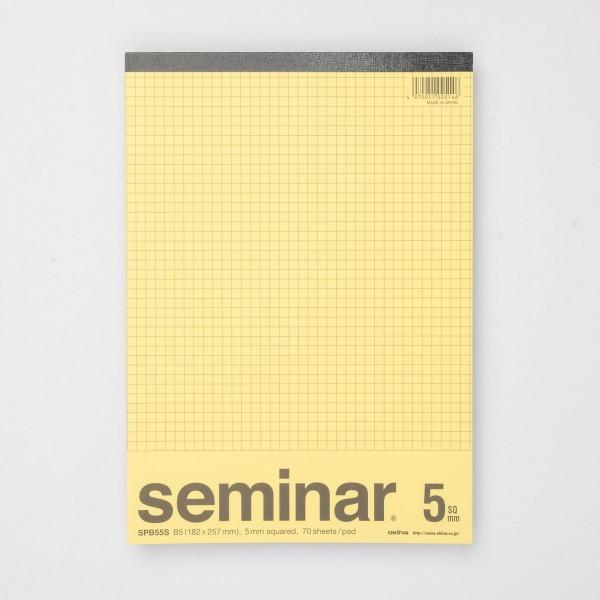 Okina Seminar Schreibblock kariert (B5)
