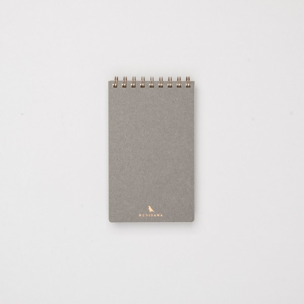 Kunisawa Find Pocket Note grau
