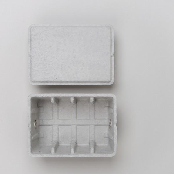 Midori Pulp Storage Card Box grau