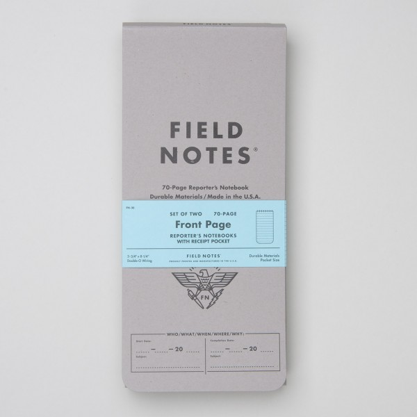 "Field Notes Reporterblock 2er Pack ""Front Page"""