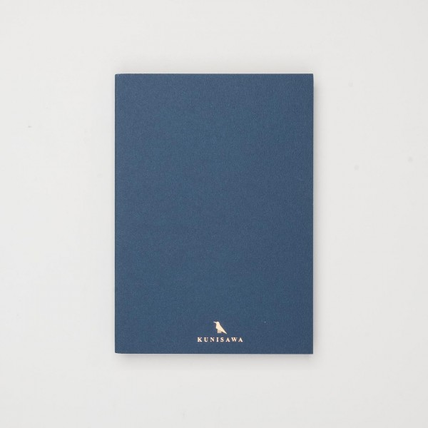 Kunisawa Find Slim Note blau (A5)