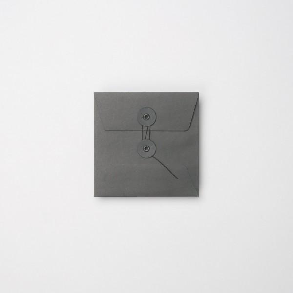"""Umschlag mit Kordel """"schwarz"""" CD"""