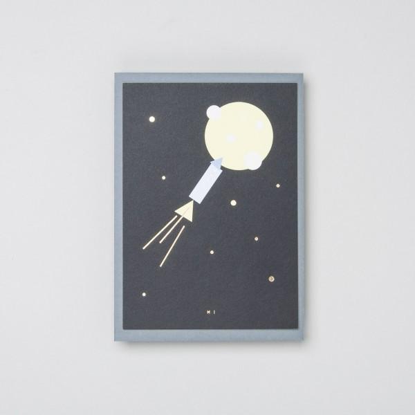 """Grußkarte """"Moon Ride"""""""