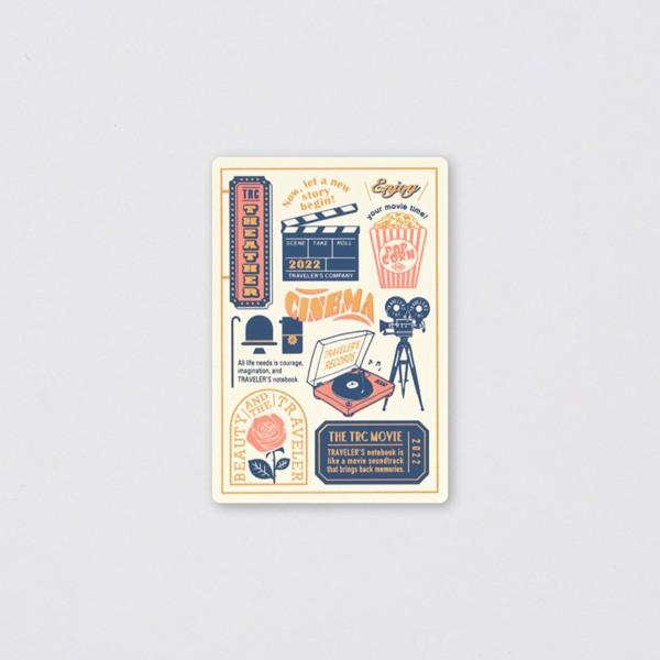 Traveler's Notebook 2022 Passport Kunststoffunterlage