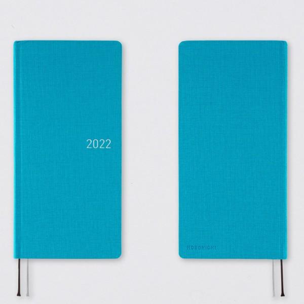 Hobonichi 2022 Kalender Weeks Sunny Blue