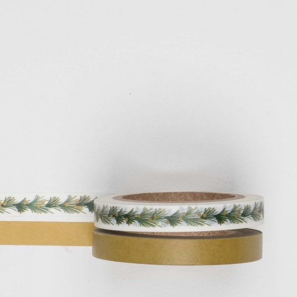 Masking Tape 2er Set tree garland