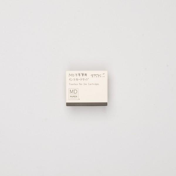Midori Tintenpatronen (6 St.) schwarz
