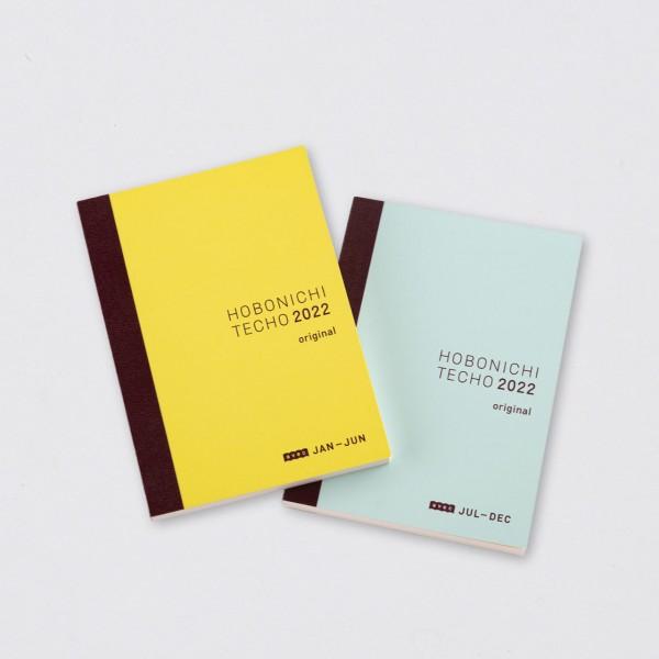 Hobonichi 2022 Techo Avec A6 (2 Bücher japanisch)