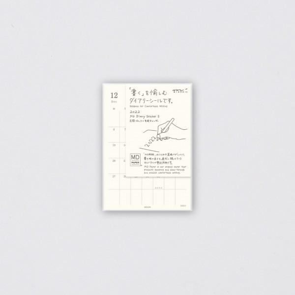 Midori MD 2022 Diary Sticker S