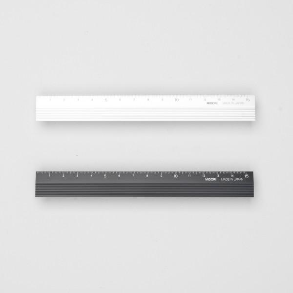 Midori Aluminium Lineal (15 cm)