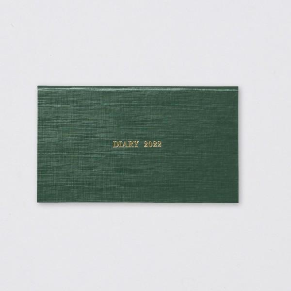 Kokuyo Kalender 2022 Hardcover horizontal grün