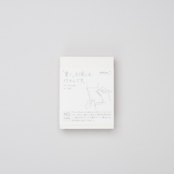 Midori MD Sticky Memo Pad A7 blanko