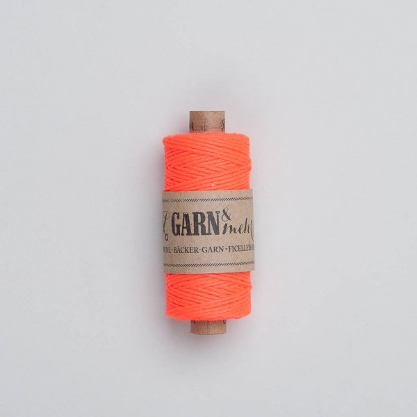 Garn & Mehr Bakers Twine in neon orange
