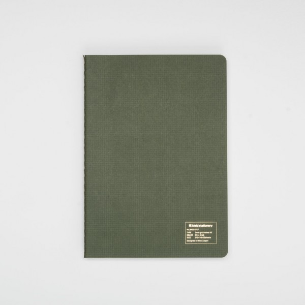 Kleid Japanese Notebook A5 olive