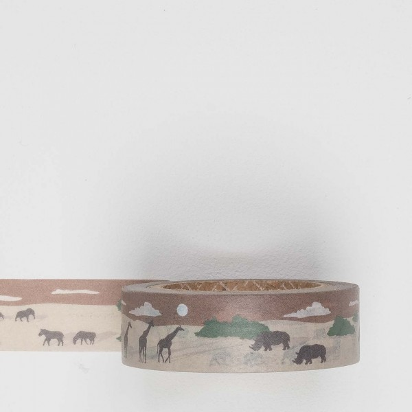 Dailylike Masking Tape 125 safari