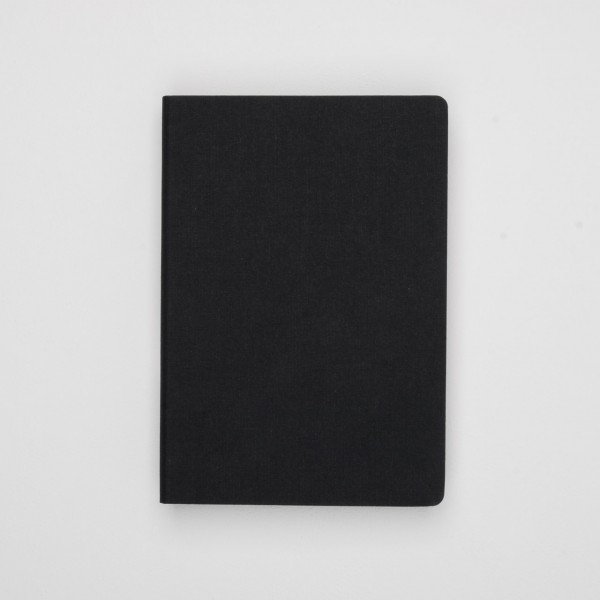 Bindewerk Notizbuch Leinen (A5) schwarz