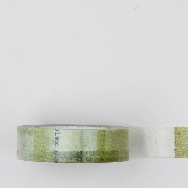 "Masking Tape Single ""Collage"" grün"
