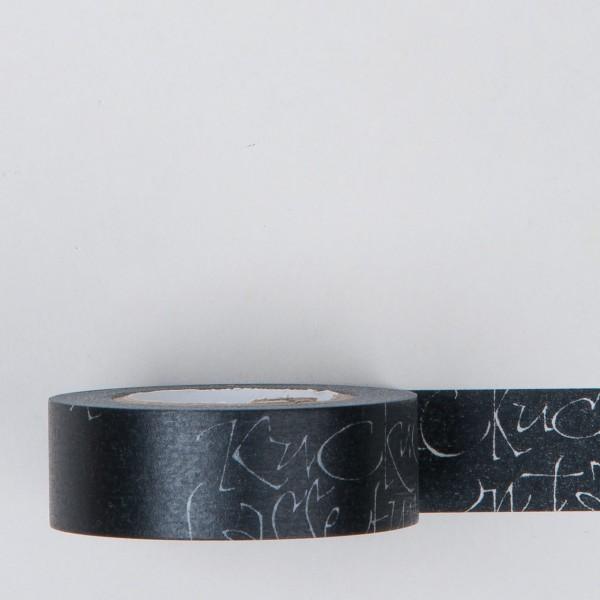 Masking Tape Kuckuck schwarz