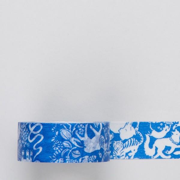 """Masking Tape """"Freund"""" blau"""
