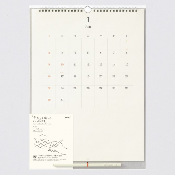 Midori 2022 Wandkalender