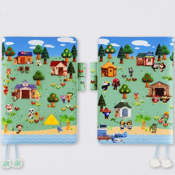 Hobonichi 2022 Techo Cousin Kalender A5 Animal Crossing: New Horizons Set