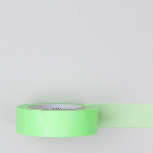 Masking Tape einfarbig neongrün
