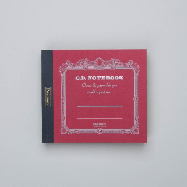APICA Premium C.D. Notizbuch klein kariert