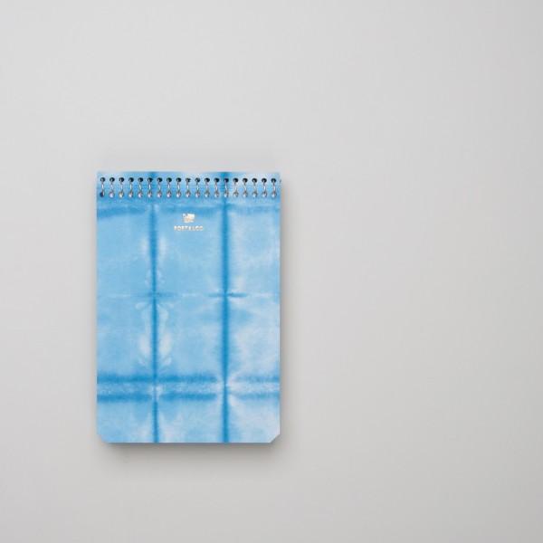 "Postalco ""Square Dyed"" Spiralnotizbuch A6 wolkenblau"
