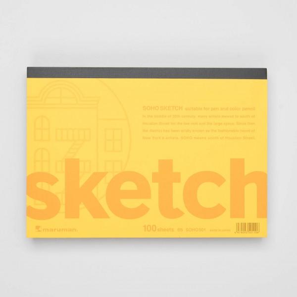 """Maruman """"Soho Sketch"""" Skizzenblock B5"""