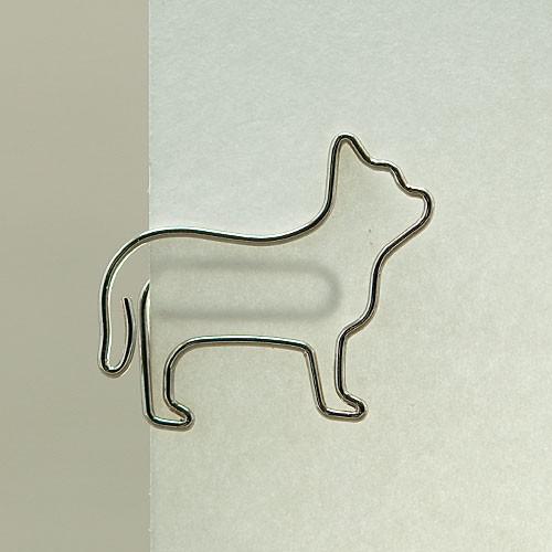 "D-Clip Stahlbüroklammer ""Cat"" (30 St.)"