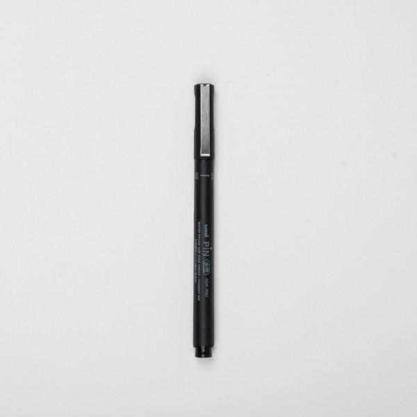 Uni Pin Fineliner 02 schwarz